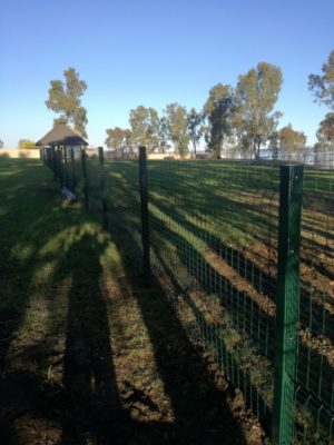 Basic (Low) Security Clearview Fence
